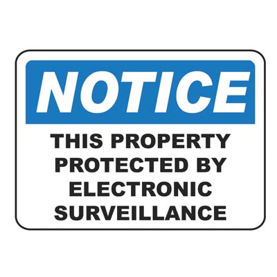 Electronic Surveillance Notice