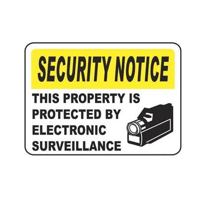 Electronic Surveillance Security Notice