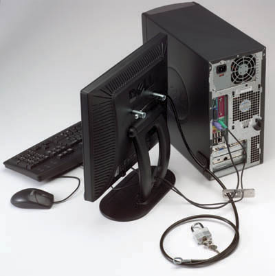 PC Security Kit with Keyboard/Mice Security