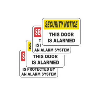 Security Sign 12 Pack Offer Only $199