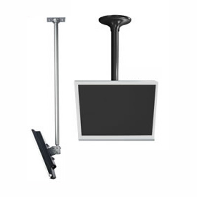LCD Ceiling Mount (13-29 Inch Screens) with Cord Management 18-30 Inch Drop
