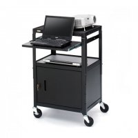 Adjustable Height Cabinet Cart