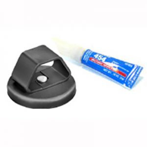 Laptop Cable Mounting Plate (Glue On Disc)