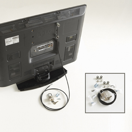 flat screen tv lock kit ex for use with a tv mount - Tv Mount