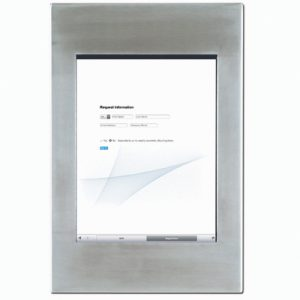 Fully-Enclosed iPad Mounting Frame
