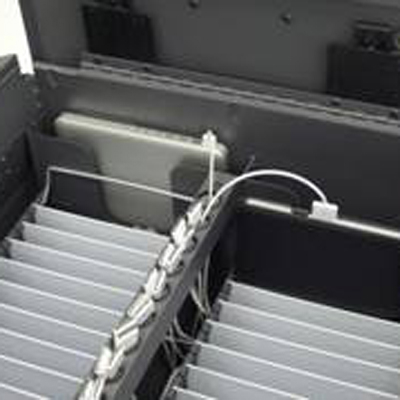 Secure iPad Charging Cart