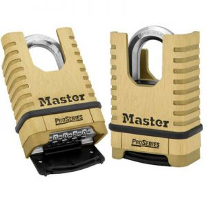 Master Lock Pro-Series Shrouded Resettable Combination Lock