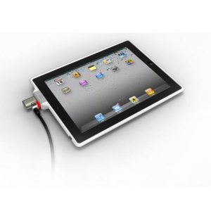 SecureBack Security Case with 2-Way Stand and ClickSafe Lock for iPad 2