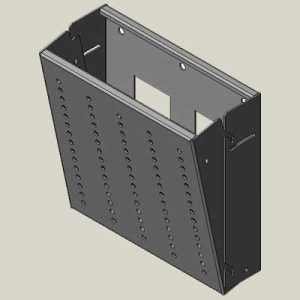 Tilting Security Wall Mount for Flat Screen Televisions