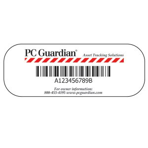Asset ID Registered Tags - PC Guardian