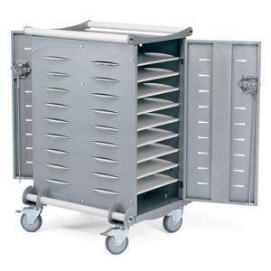 20 Unit Laptop Charging Cart