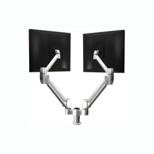 Dual Arm Monitor Mount (Bolt Through)