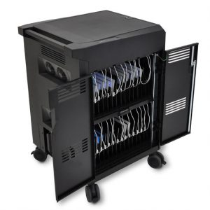 PowerShuttle Tablet Cart