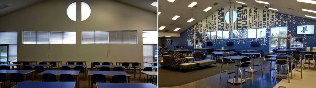 Frontier High School Quest Center Before & After 1
