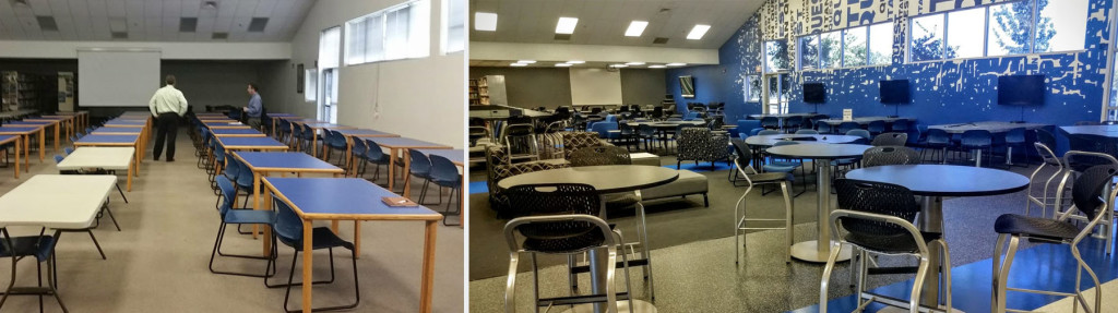 Frontier High School Quest Center Before & After 4