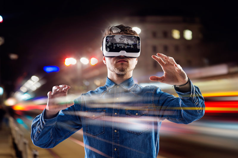 Virtual Reality Crosses the Line From Science-Fiction and Into Reality