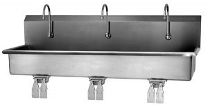 hand washing stainless steel